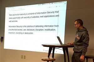 Jesse presents Web Security.
