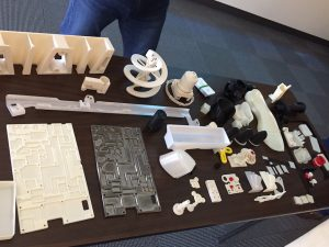 Products produced via Additive Manufacturing.