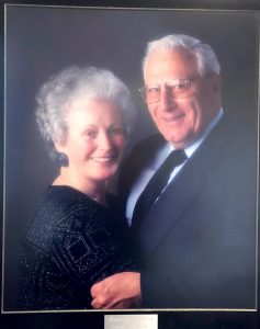 Virginia and Richard Card, Founder.