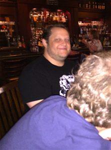 Brandon, Ben (back of his head)