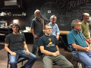 Doug, Jim, Jesse, Ed, Joe, Monty.