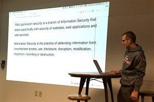 Jesse presents Web Security.