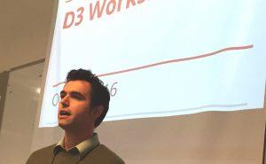 Randolph Jones introduces D3 Workshop.
