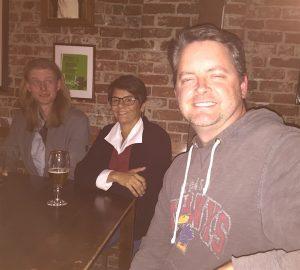 Troy, Jayne, Mike.