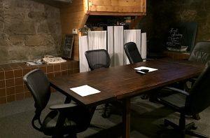 Shasta Networks' Boardroom Table