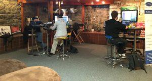 Shasta Network Staff--at work!