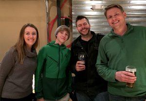 Rachel, Ezra, Jay, Rob