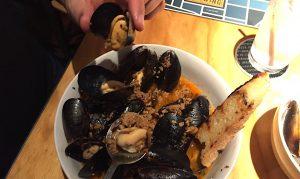 Beer Mussels.