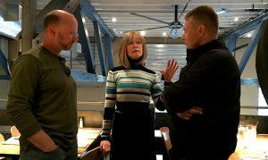 Gunnar, Barb, Jacek.