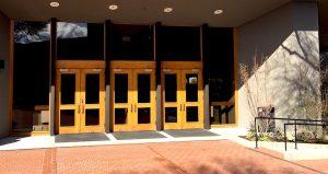 Bowmer Theater Entrance.