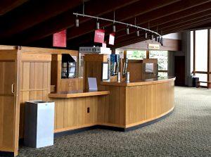 Thomas Theater Lobby.
