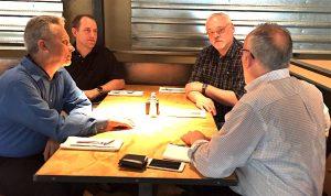 Patrick, Glenn, Dave, Cael.