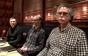 Frank, Monty, Joe.