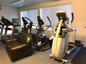 Exercise Machines.